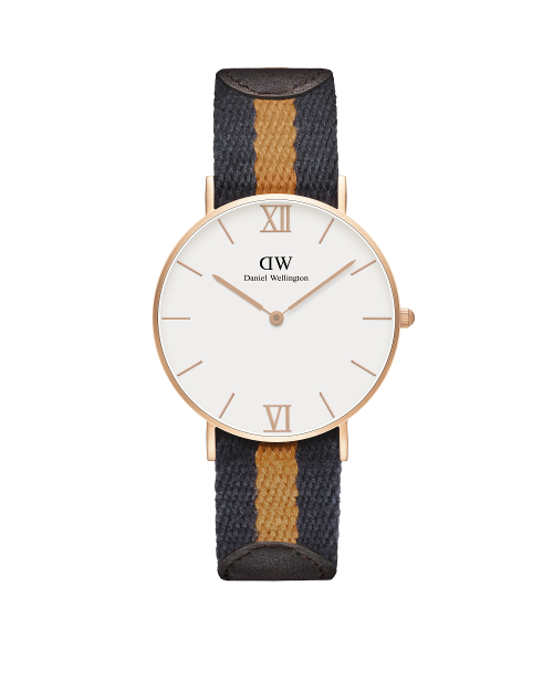 36mm Sandblasted Rose Gold Strap: Selwyn